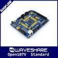 Open107V Стандартный Waveshare STM32F107VCT6 STM32F107 STM32 ARM Cortex-M3 Совет По Развитию + PL2303 USB UART Модуль