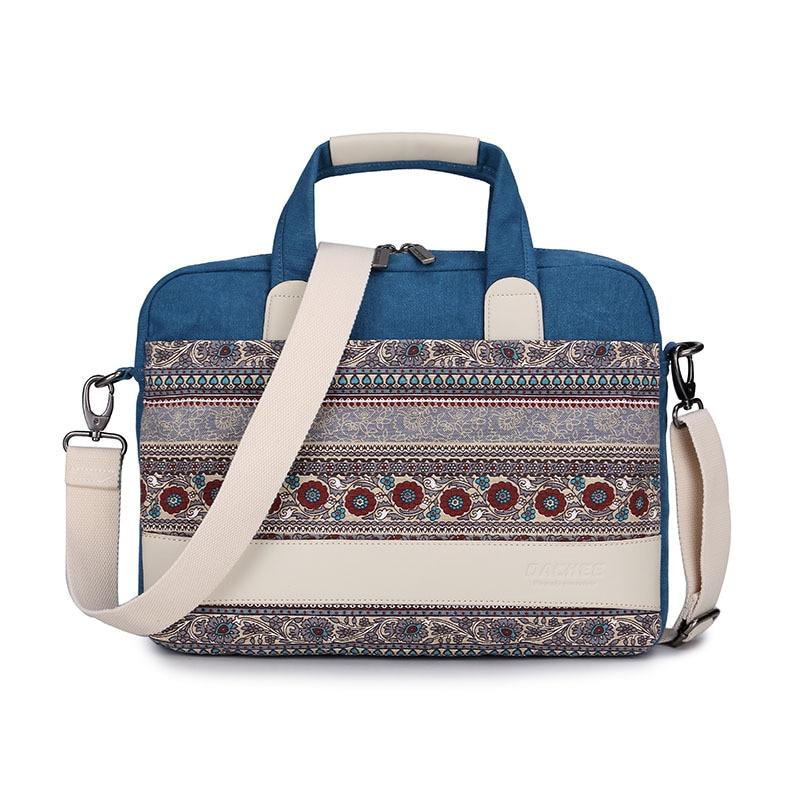New ethnic tribal pattern computer bag cross-section 13/15 inch computer shoulder bag for Apple HP Dell Lenovo laptop bag