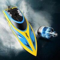 Две батарейки оригинальный JJRC S1 S2 S3 RC лодка Водонепроницаемый восстановление опрокидывания система водяного охлаждения высокой Скорость 25...