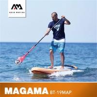 AQUA MARINA Magma Surfing Board Inflatable Paddle Board Stand Up Paddle Board SUP Board 330*81*15CM Surfing Stroke Sports