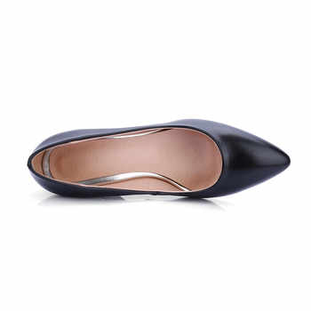 ASUMER black red fashion pointed toe shallow ladies pumps shoes elegant spring autumn dress shoes women high heels shoes size 44