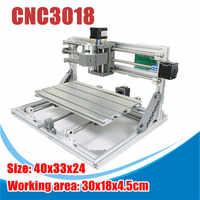 15000mw 3 Axises CNC3018 GRBL Control DIY Mini CNC Router Laser Machine Pcb Pvc Milling Wood Router Wood Router Laser Engraving