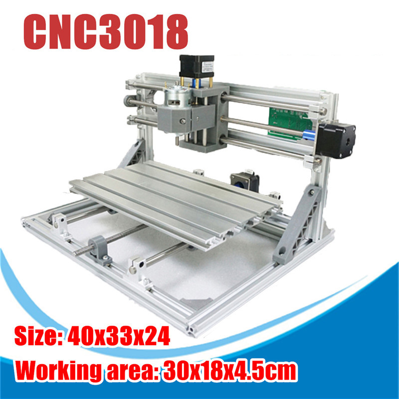 15000mw 3 Axises CNC3018 GRBL DIY Controle Laser Mini CNC Router Pcb Máquina de Trituração Do Pvc Madeira Router Madeira Router gravação a laser