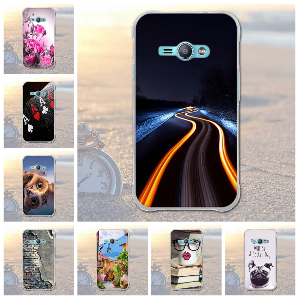 for Samsung Galaxy J1 Ace J110M J110F J110G J110L J111F Animal City Pattern TPU Soft Cover Mobile Phone Case for Samsung j1 Ace