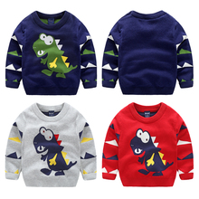 2017 boys sweater thickening child sweater patterns cartoon children pullover sweaters child boys informal sweater