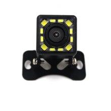 2017 NUEVA 12 LED de La Noche de Visión Amplio Ángulo de Cámara de Ayuda Al Aparcamiento de Coche Universal Impermeable Del CCD HD Coche Cámara de Visión Trasera