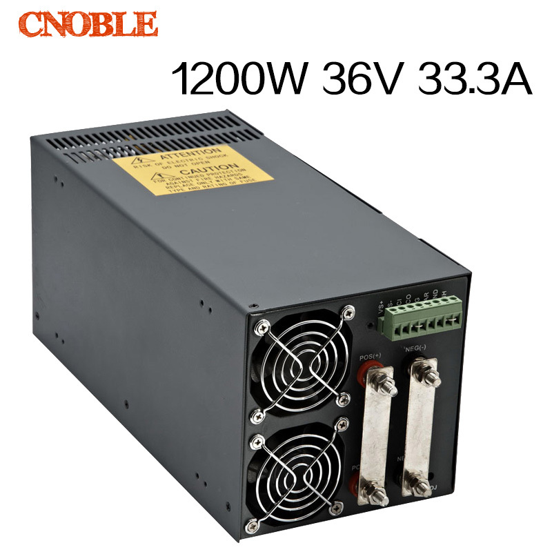1200W 36V 33.3A adjustable 110V or 220V input Single Output Switching power supply for LED Strip light AC to DC best quality 12v 15a 180w switching power supply driver for led strip ac 100 240v input to dc 12v