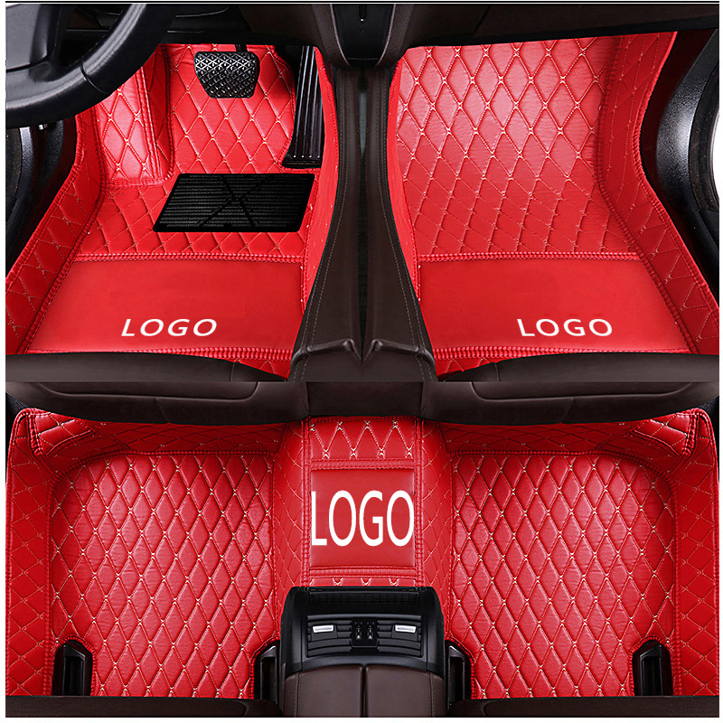 Custom Logo fit car floor mats for Mercedes Benz W203 W204 <font><b>W205</b></font> W201 W202 <font><b>AMG</b></font> C43 C63 <font><b>C200</b></font> C220 car styling image