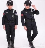 Children S Halloween 100 160 Cm Gift Disfrace Boys Kid Cop Police Costume Kids Policeman Cosplay
