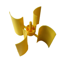 Mini Wind Turbine Blade Vertical Axis Micro-generator Blades Small Set New