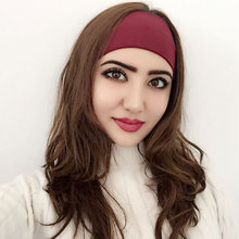 Cool Fashion women Yoga cloth Headbands wide-brimmed for Women Turban Elastic Hairband Head band Wrap Girls Hair Accessories все цены