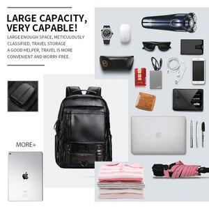 Image 4 - LIELANG Backpack Mens Mochila Masculina Men Fashion Trend Large Capacity Youth Leisure Black Travel Leather Computer Bag Mens