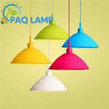 Muuto E27 подвесные светильники 30 см * H20cm цвет силикона Складной абажур кулон Висит гнездо светильник