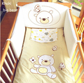 4 Pc Crib Infant  Baby Bedroom Set Nursery Bedding  set for newborn baby girls and boy,Quality cotton cot bedding for any seaaon