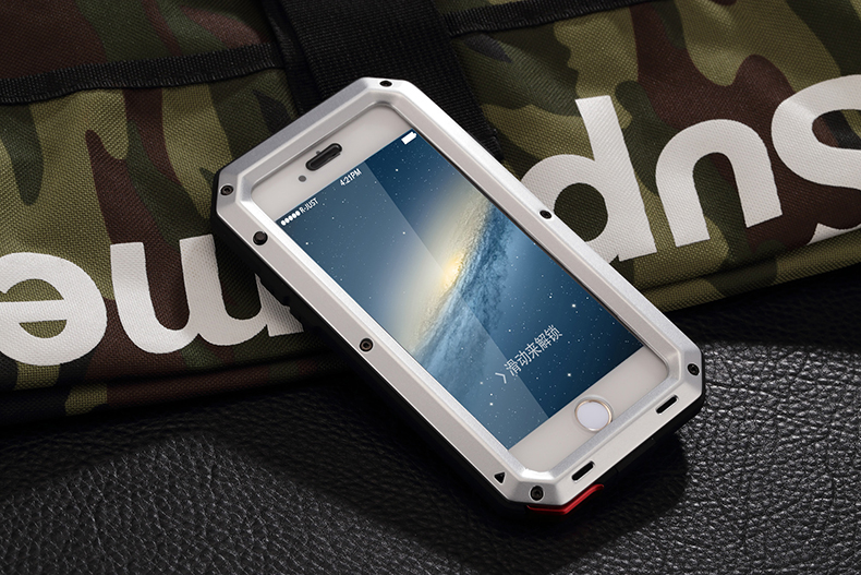 HTB1HqiBeL9TBuNjy0Fcq6zeiFXao Heavy Duty Protection Doom armor Metal Aluminum phone Case for iPhone 11 Pro Max XR XS MAX 6 6S 7 8 Plus X 5S 5 Shockproof Cover