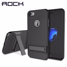ROCK teléfono carcasa para iPhone 6 6s 7 8 plus X XS X MAX de lujo de silicona suave funda para el iPhone 7 7 plus Coque de 70%(China)