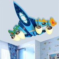 Мальчиков Спальня Luminarias светодиодный подвесные светильники Современные Творческий простые теплые светодиодный глаз Детская комната свет