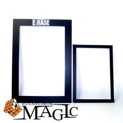 A4 size E-Rase by Julien Arlandis   close-up street stage magic trick product free shipping