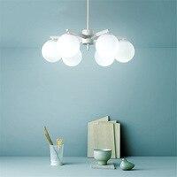 Nordic Modern Light Led E14 Pendant Lights Loft Suspension Bedroom Dining Room Study Lighting Decoration Pendant Lamps Luminaria