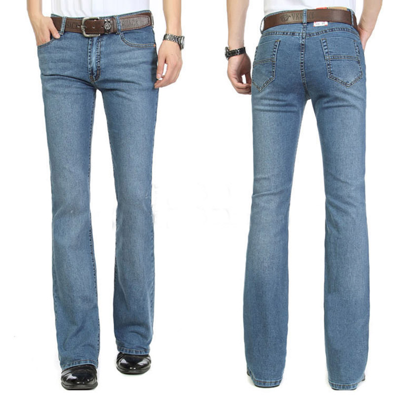Popular Mens Vintage Bell Bottom Jeans-Buy Cheap Mens Vintage Bell ...