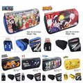 Anime stationary Fairy tail&Black Butler&Naruto&The Nightmare Before Christmas&One piece pen bag pencil case Pen pocket