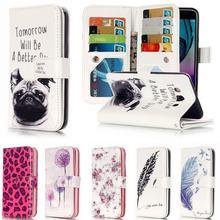 Для Coque Samsung Galaxy J5 2016 чехол кожаный бумажник откидная крышка для Fundas Samsung Galaxy J5 2016 чехол для телефона J510F J5 6 J5 2015
