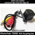 Стайлинга автомобилей SONY пзс парковочная камера для Toyota camry 2008 автоматического резервного копирования заднего вида обратный парк комплект автомобиля ночного видения