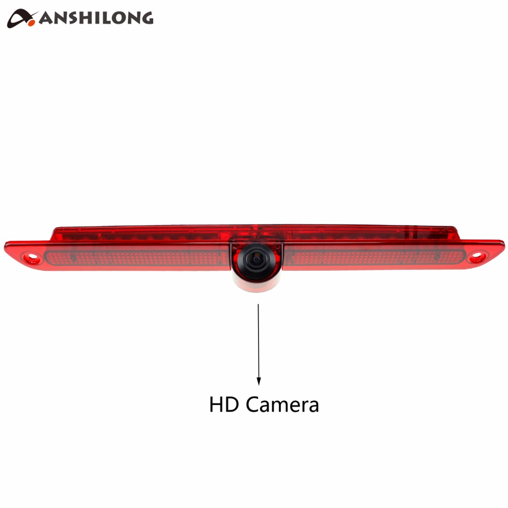 ANSHILONG Car CCD Reversing Rear Camera LED Brake Light For Mercedes Sprinter VW Crafter in Vehicle Camera from Automobiles Motorcycles