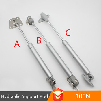 цена на JD Hydraulic Telescopic Rod Pneumatic Hydraulic Support Gas Support Cabinet Door Support Gas Spring Frame Hardware
