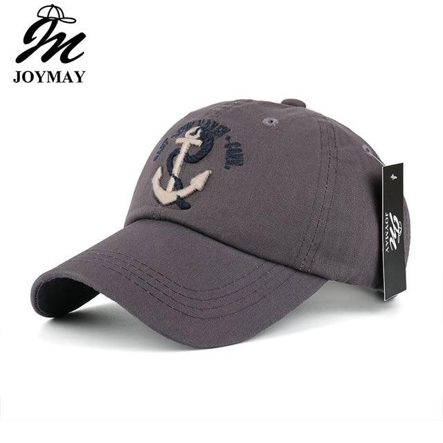 02bd2e4ed0a New Arrivals Cotton Gorras anchor Baseball Cap Vintage Casual Hat Snapback  Adjuatable Baseball Caps Brand New