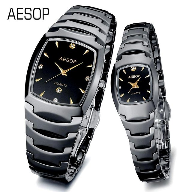 AESOP Luxury Watch Ceramic wrist quartz Watches for lover 2013 Design sapphire scratchproof  3 ATM Water Resistant 9916