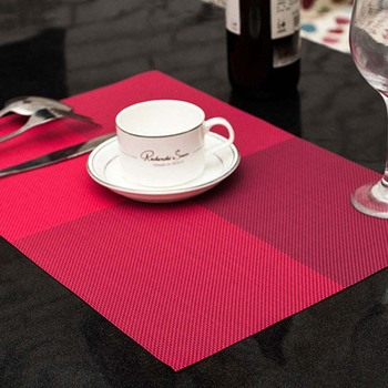 PVC Dining Table Placemat Europe Style Kitchen Tool