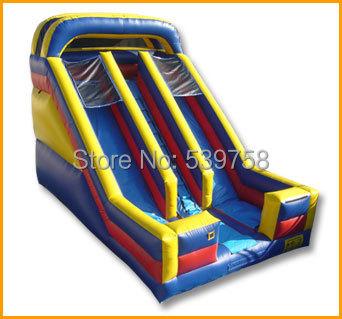 Directo de fábrica castillo inflable de diapositivas, gorila inflable, ciudad inflable de la diversión, toboganes inflables CN-064