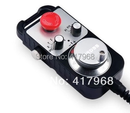 Electronic hand wheel with trip Manual pulse generator handheld box 1474 1468 Manual pulse generator Handwheel  цены