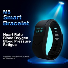 M5 Smart запястье сердечного ритма boold Давление кислорода в крови монитор Спорт SmartBand браслет для IOS Android PK miband