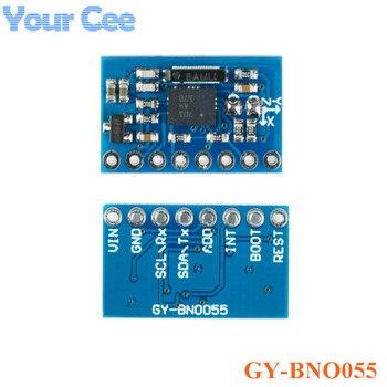 GY-BNO055 9DOF 9-osi BNO055 absolutna orientacji tabliczka zaciskowa moduł czujnika kąt żyroskop moduł IIC Serial dla Arduino