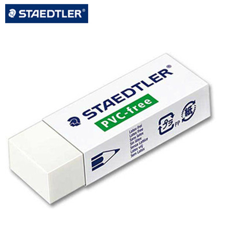 8pcs Rubber STAEDTLER Environmental Protection Health Eraser 525 B30, School / Office / Eraser ,Pencil Sketch Eraser