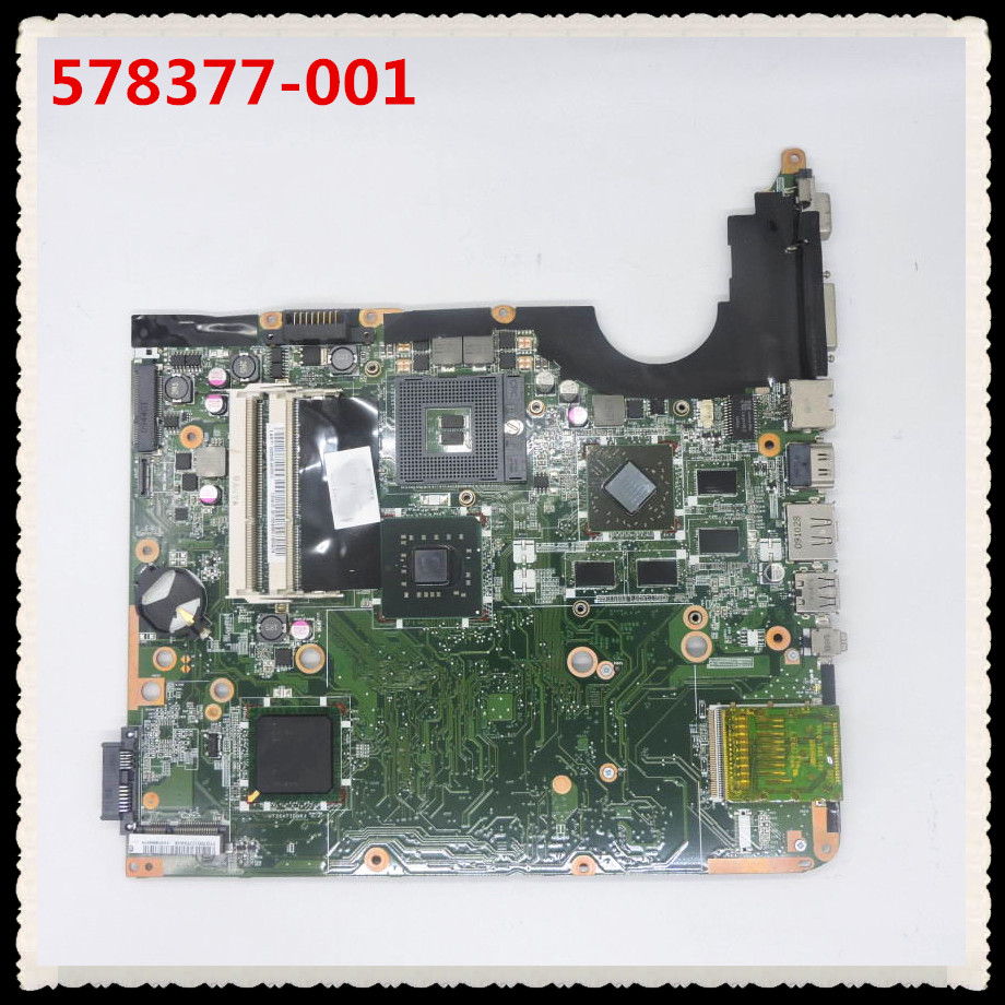 578377-001 Laptop motherboard For Pavilion DV6 DV6-1000 Main board PM45 DDR3 tested working free shipping 578377 001 for hp pavilion dv6 dv6 1000 series motherboard all functions 100% fully tested