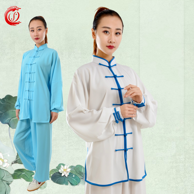 Chi Serve Spring And Woman Male Jiajiamian Chinese Quinquagenarian Taiji Clothing A Martial Art Practice Serve Performance Tree