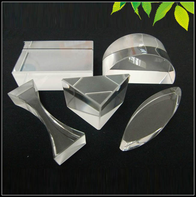 Free Shipping NEW 5PCS Optical Glass Prism Experimental Apparatus for Teachers and Students to Learn Light Spectrum and Science  цены
