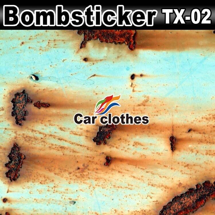 50x152cm Vinyl Film Auto Wrapping Carbon Fiber Vinyl Film Car Sticker Cover Rust Vinyl Car Wrap Covering Film футболка quiksilver checker pasts tees flint stone
