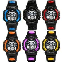 Moment # L04 2018 Fashion Waterproof Mens Boy's Digital LED Quartz Alarm Date Wrist Watch