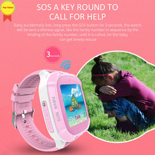 2019 Kids Smart Watch Wrist Fashion New GPS Tracker for Boys Girls with Camera Smart Watch Relogio Android SmartWatch Phone call sograce smart watches smartwatch gps smart watch for children smart watch call reminder girl boy on wrist android watch phone
