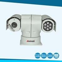 H.265 IP автомобиля PTZ Камера starvis Sony imx185 IP Security Камера для камера полицейской машины IP moible PTZ
