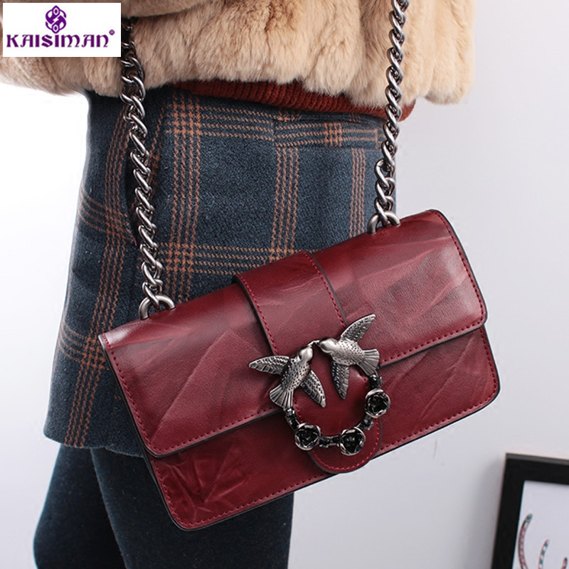 New Luxury Brand Famous Designer Flap Lady Women Shoulder Bag Chains Swallow Lock Messenger Bags Genuine Cow Leather Handbag Sac luxury brand chains double flap bag 100% genuine leather sheepskin women classic shoulder bag handbag totes red black beige pink