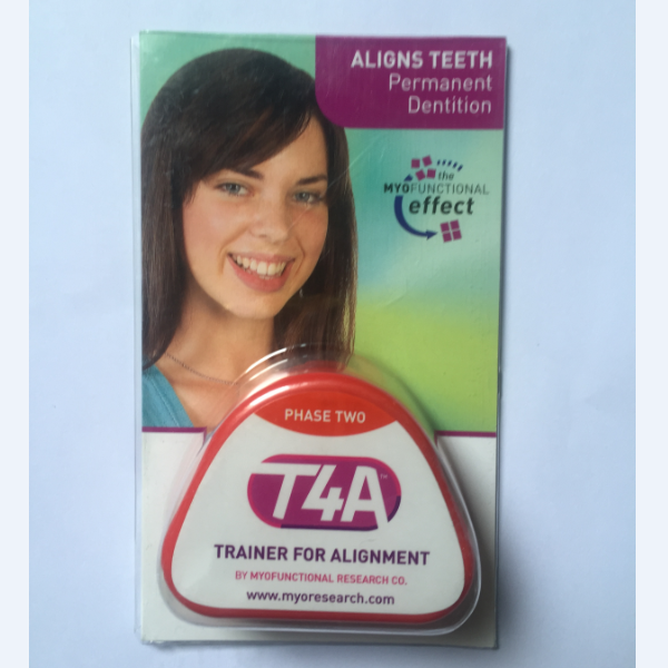 Original Myofunctional T4A T4A hard Red Teeth Orthodontic Trainer-in Braces & Supports from Beauty & Health    2
