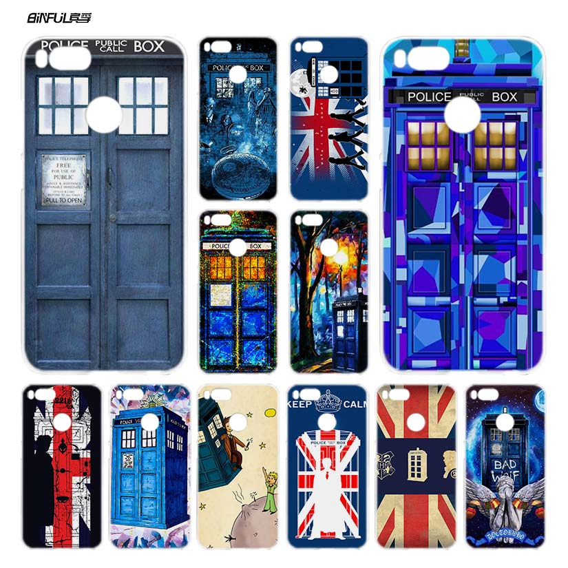 Phone Bags & Cases Yimaoc Tardis Box Doctor Who Soft Silicone Phone Case For Xiaomi Mi 9 8 A2 Lite A1 6 Pocophone F1 Max 3 Black Mi9 Mi8 Mia2 Evident Effect