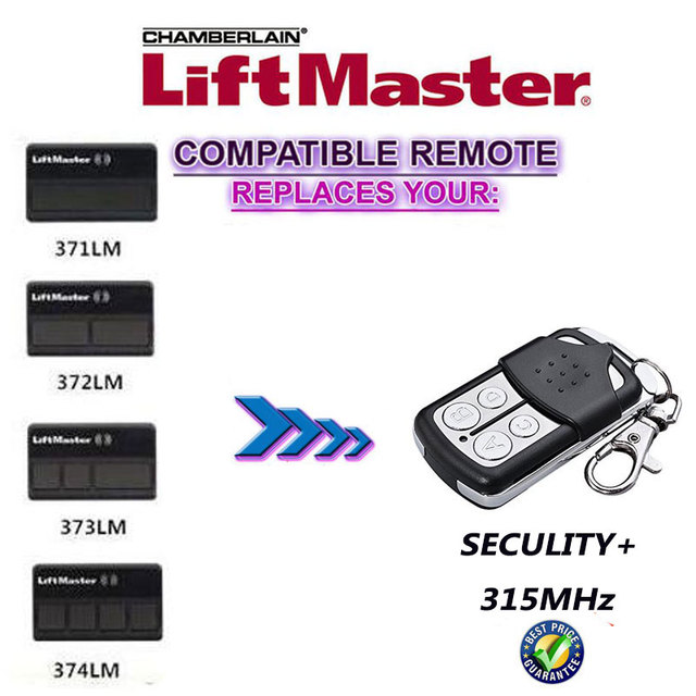 Aliexpress Buy Liftmaster Security 315mhz Purple Smartlearn