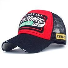 Sombreros para los hombres y las mujeres bordado de letra Impresión de moda  gorras de béisbol Topee ajustable poliéster sombrero. cacb25b1379
