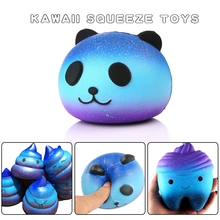 Squeeze Squishys Galaxy Cute Panda Cream Scented Squishy Funny Gadgets Anti Stress Novelty Antistress Toys Gift slime toys